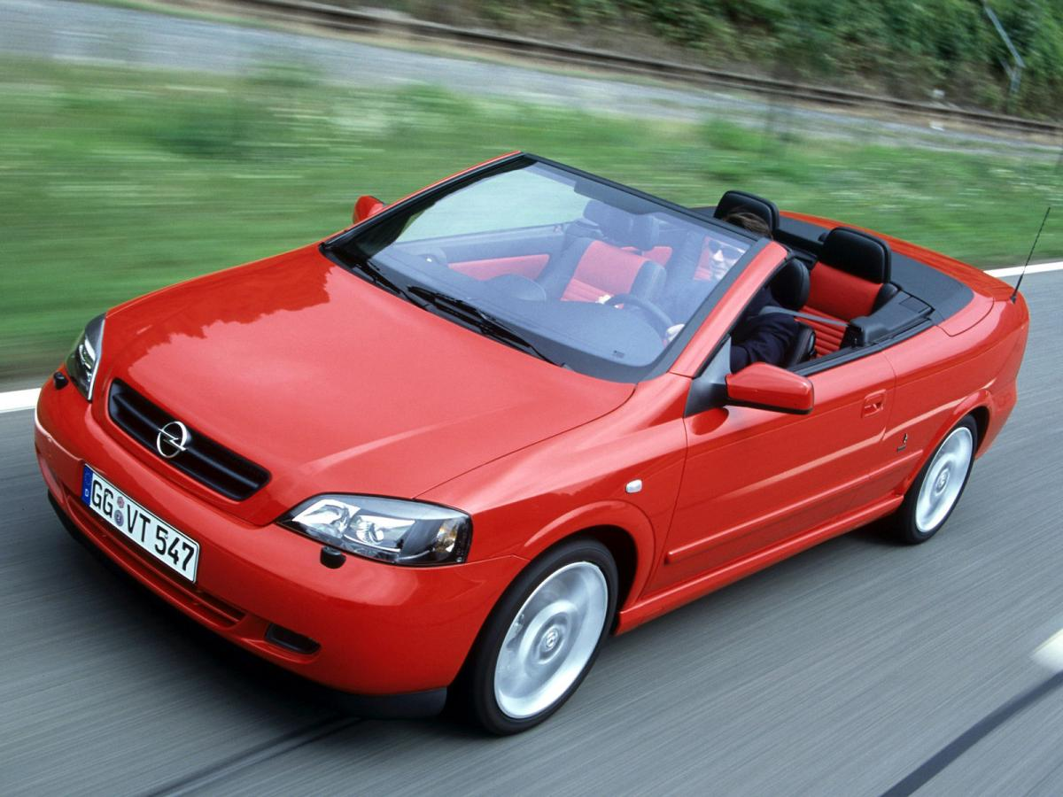 Снимки: Opel Astra G Cabrio